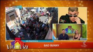 Exclusiva: Bad Bunny ofrece detalles de la manifestación