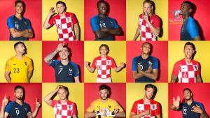 Francia y Croacia buscan la gloria