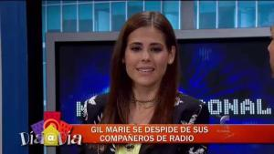 Gil Marie explica por qué salió de la radio