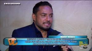 Manny Manuel temió por su vida en España