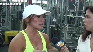 Melina León estuvo delicada de salud