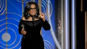 Oprah Winfrey da poderoso discurso contra el abuso sexual
