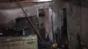 Velas provocan incendios en dos residencias