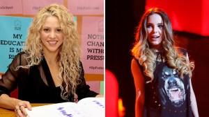 Acusan a Belinda de copiarse de Shakira