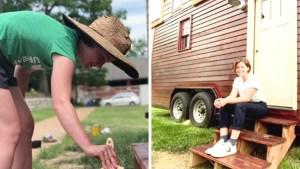 Insólito: le roban pequeña casa que construyó con mucho esfuerzo y $20,000