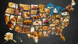 Las comidas más populares del Super Bowl por estado