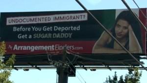 """""""Evite la deportación: busque un hombre rico"""""""