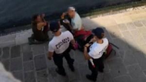 Vacaciones amargas: reciben multa de $1,000 por preparar café en la calle