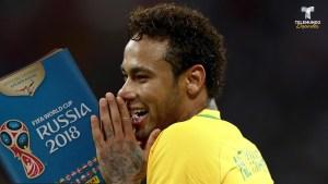La broma mundialista que le aplicaron a la novia de Neymar