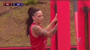 Yarishna Ayala muestra su fuerza en Exatlón