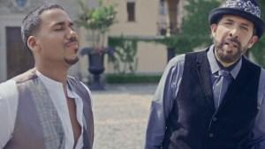 Romeo y Juan Luis Guerra se unen en romántico video