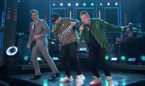 """Nicky Jam pone a bailar a Jimmy Fallon al ritmo de """"X"""""""