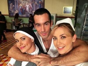 """El elenco de """"Los Miserables"""" en las redes"""