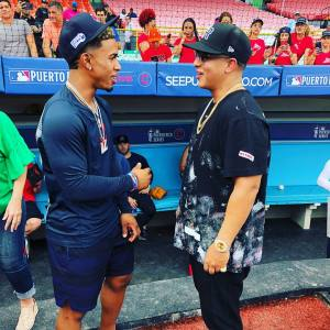 Daddy Yankee y Lindor: su encuentro en fotos