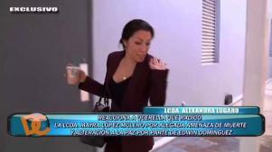 Alexandra Lúgaro reacciona a incidente entre su ex y López Mulero