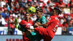 Chiapas sorprende a Toluca con golazo de tiro libre