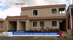 Denuncian ''Motel estudiantil'' en Bayamón