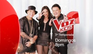 La Voz Kids: Domingo 8pm