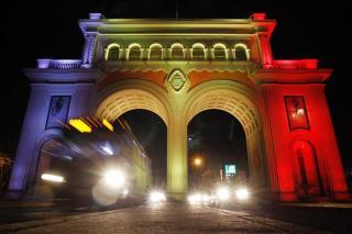 Solidaridad: el mundo se tiñe de colores por Bélgica