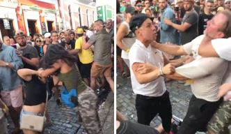 Video: Se forma otra pelea en el último día de las SanSe