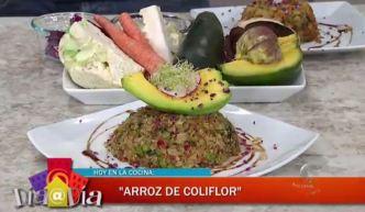 Delicioso arroz de coliflor