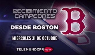 Boston celebra a los Campeones Red Sox