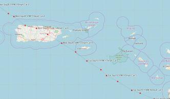 El SNM publica el mapa histórico del huracán María