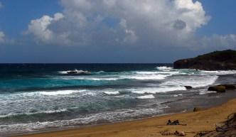 Advertencia de resacas fuertes en playas del norte