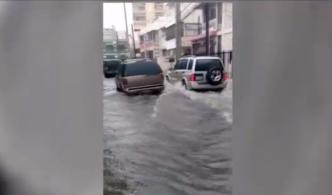 Denuncian inundaciones, desbordes de alcantarillas y aguas residuales en Condado