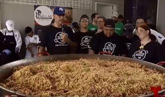 Entregan más de 2,000 platos de paella a necesitados