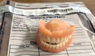 Viral: resuelto el absurdo robo (y uso) de una dentadura postiza