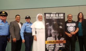 Inician campaña para prevenir disparos al aire