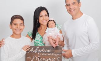 Xioana Nieves celebra la llegada de su hija