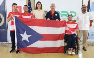 Celebran abanderamiento de la delegación paralímpica