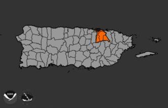 Advertencia de inundaciones para cuatro municipios