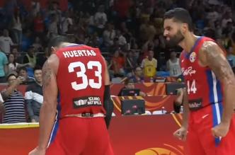 Con final de película el partido entre Puerto Rico e Irán