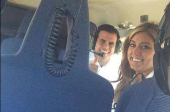 Viajes de placer utilizando helicóptero de la Policía