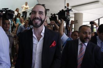El Salvador: Exalcalde Bukele lidera intención de voto