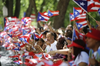 Boricuas se apoderan de NY en el Desfile Puertorriqueño