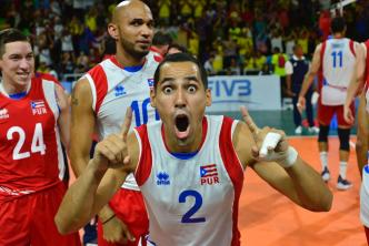 Oro para Puerto Rico en Voleibol masculino