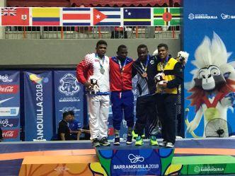 Tres medallas para Puerto Rico en lucha