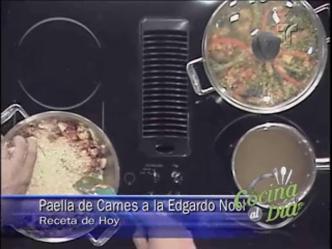 Video: Cocina al Día: Paella de carnes a la Edgardo Noel