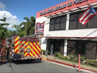 Desalojan oficinas del 9-1-1- tras explotar batería de celular