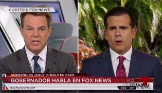 Gobernador ofrece entrevista en medio estadounidense