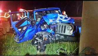 Accidente fatal en Aguada