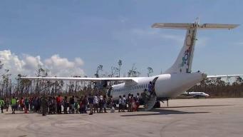 Más de 3,000 personas abandonaron Bahamas en cinco días, según el gobierno