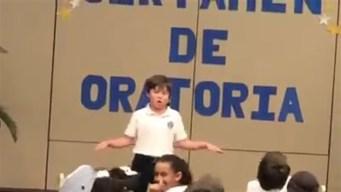 Hijo de Alexandra Fuentes se roba el show