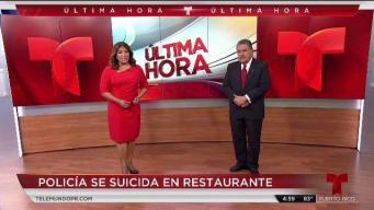 Policía se suicida en restaurante de Guayama