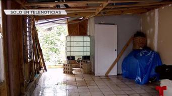 Al borde del precipicio: familia sobrevive en un hogar inhabitable