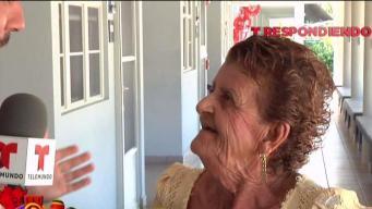 Alegre visita a los residentes de égida en Arecibo